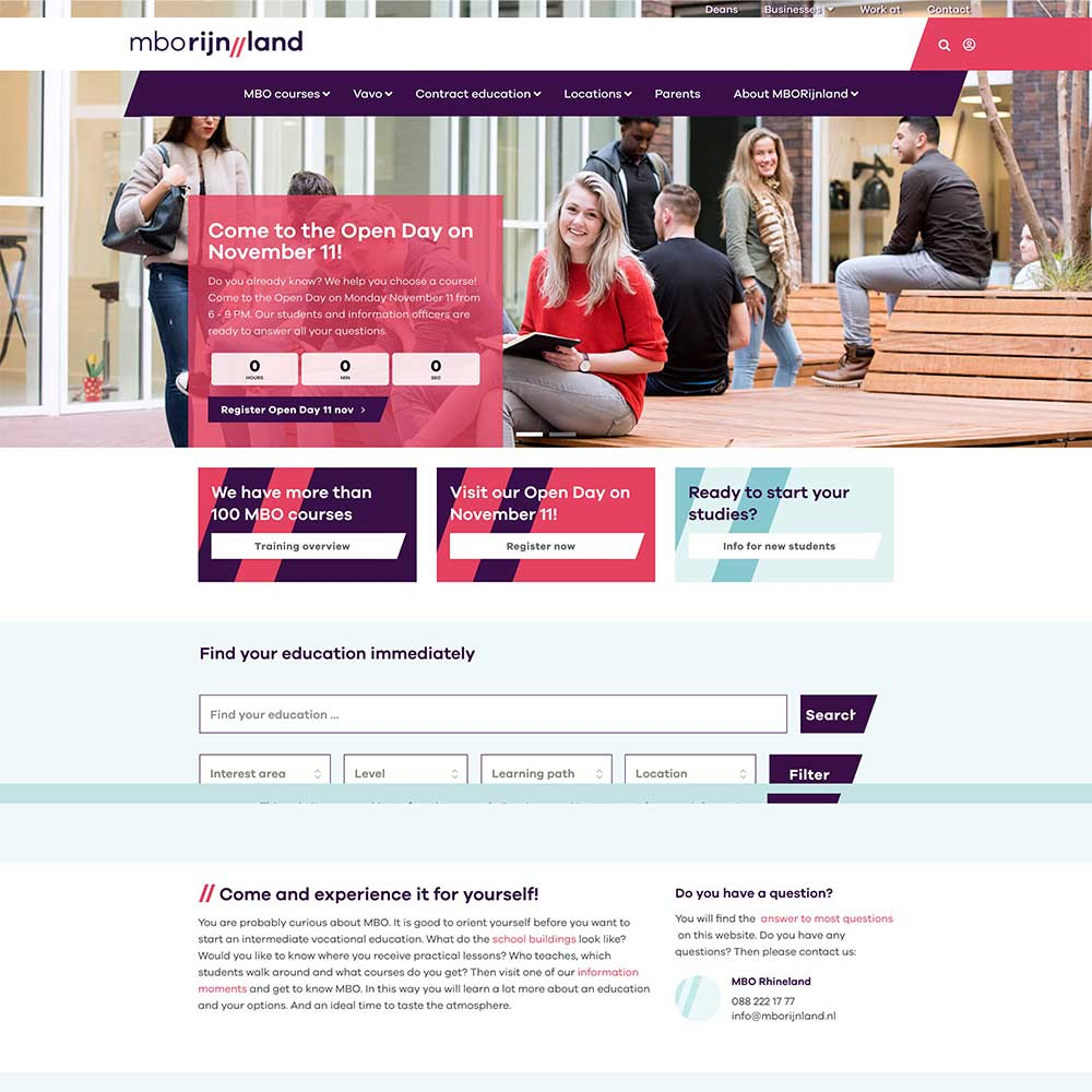 LearnDash Website for proefstuderenmbo