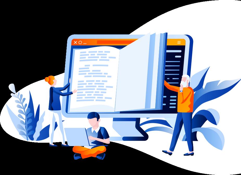 Education Web Design background